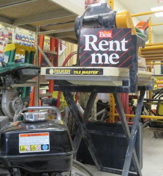 Contractor Equipment Rental