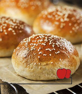Fresh Baked bread rolls. Instore bakery Cincinnatus NY