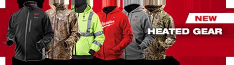 milwaukee heated gear jackets hoodies