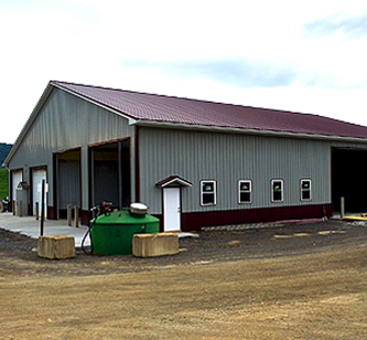 Post-frame & Pole Barn Metal Roof